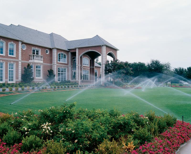 Irrigation is key to a beautiful lawn!